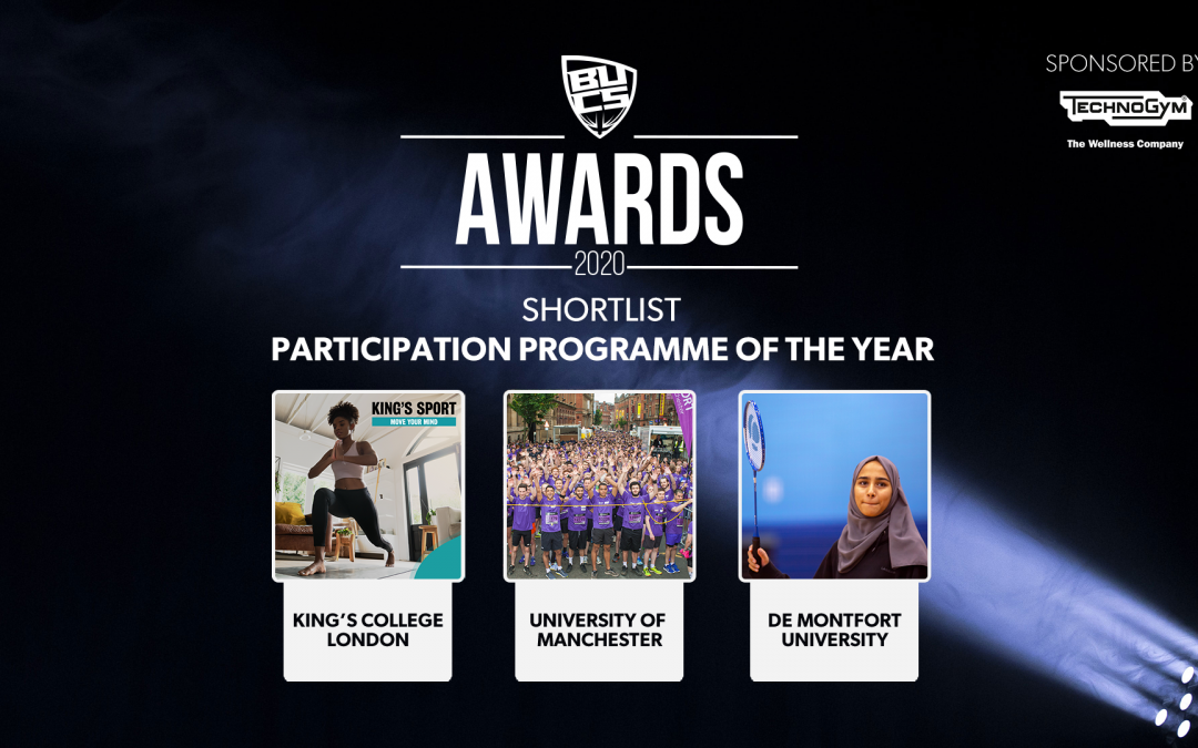 UoM Sport Shortlisted for BUCS Participation Award
