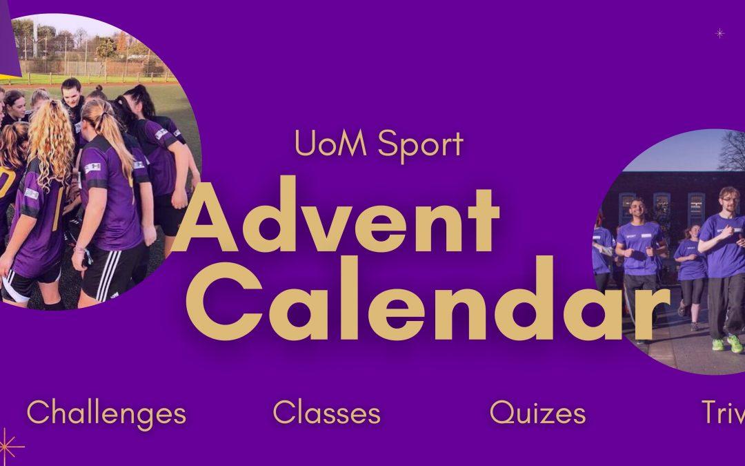 UoM Sport Advent Calendar